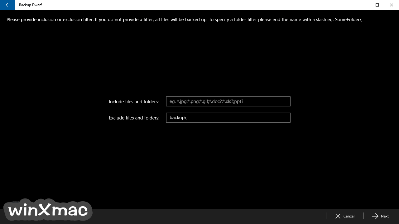 Backup Dwarf Screenshot 3