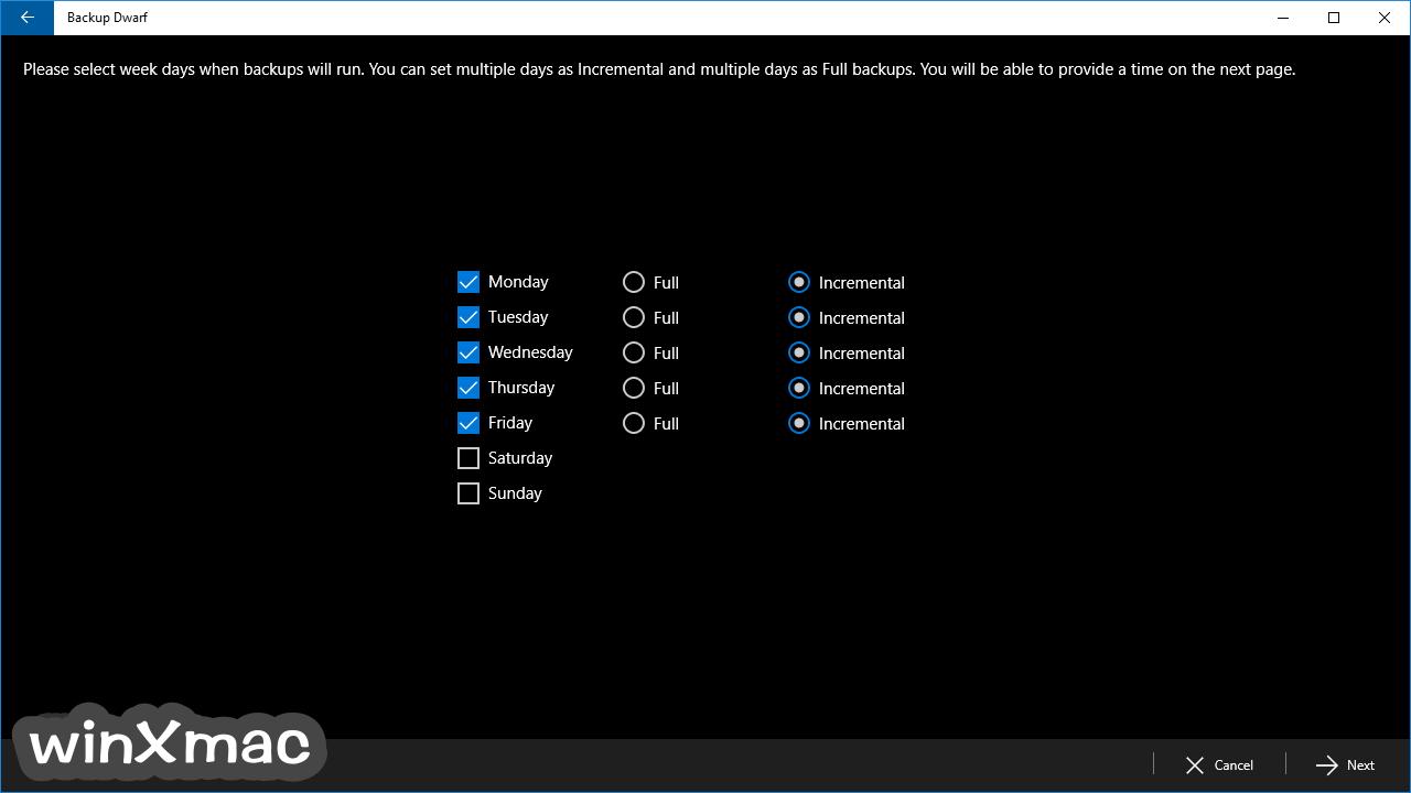 Backup Dwarf Screenshot 4