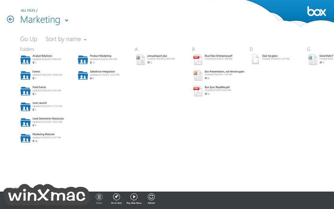 Box Sync Screenshot 2