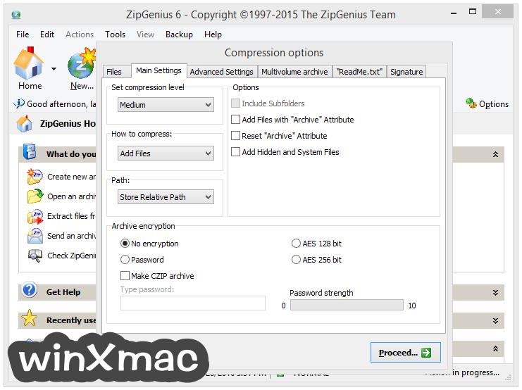 ZipGenius Screenshot 5