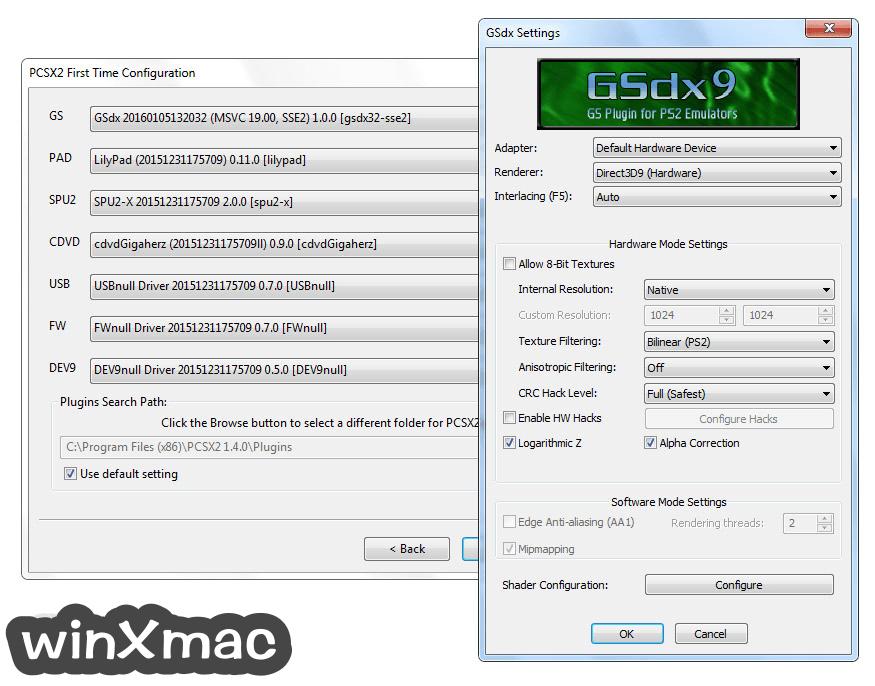PCSX2 Screenshot 2