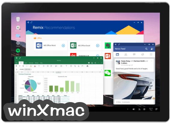 Remix OS (32-bit) Screenshot 2