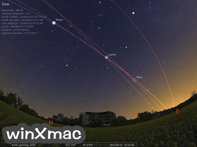 Stellarium (64-bit) Screenshot 1