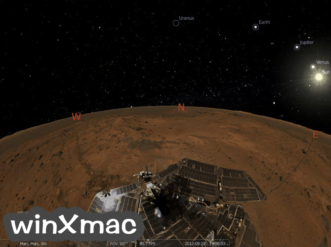 Stellarium (64-bit) Screenshot 2