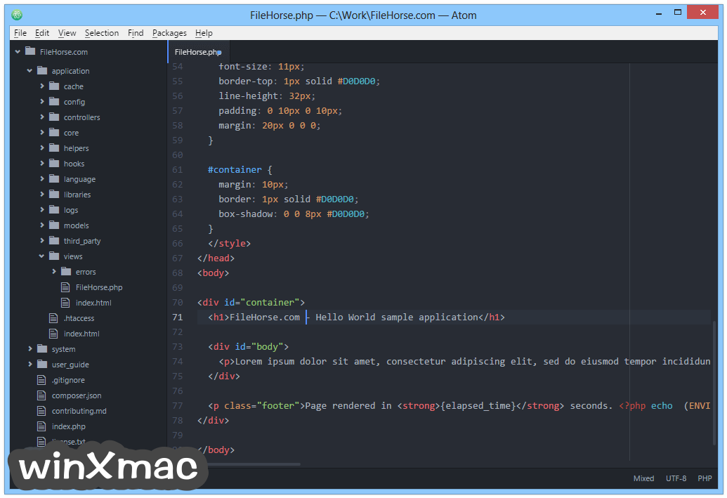 Atom (64-bit) Screenshot 2