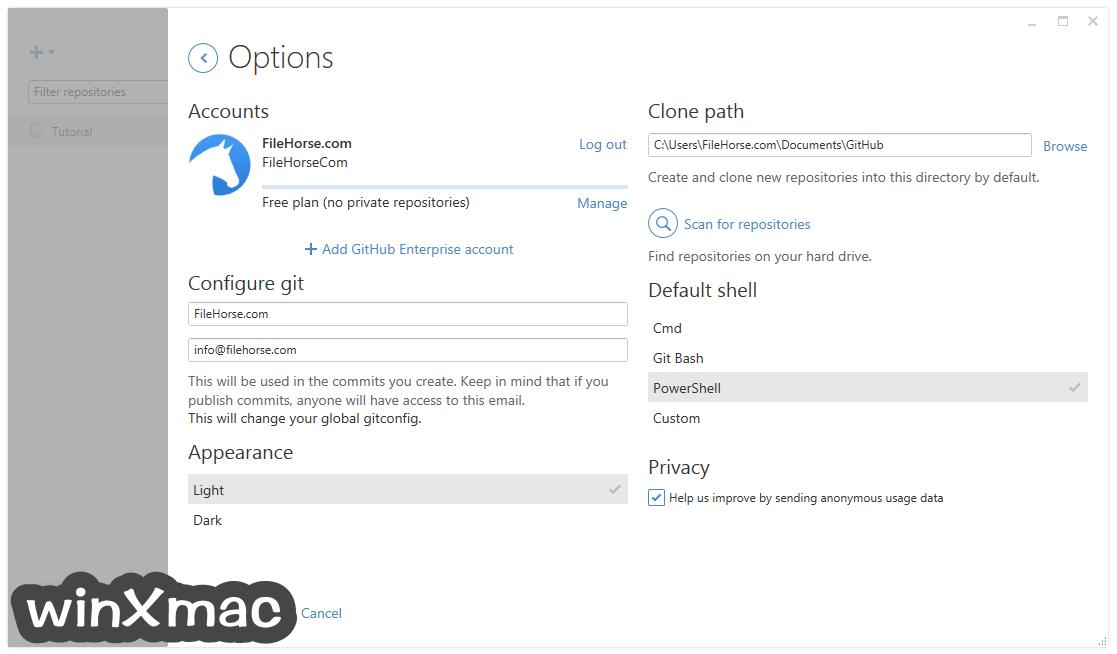 GitHub Desktop Screenshot 5