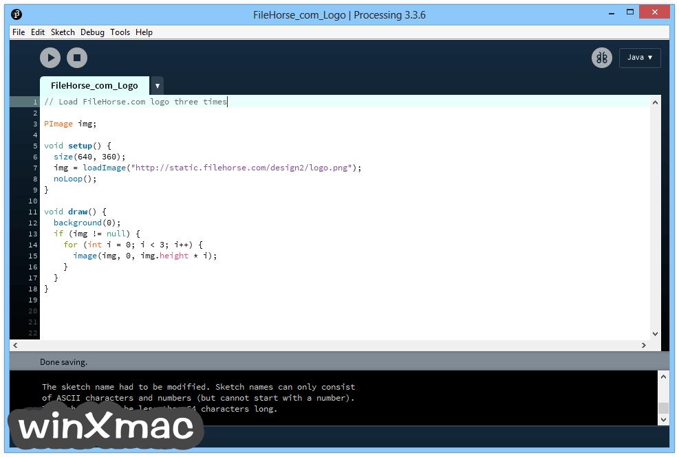 Processing (64-bit) Screenshot 1