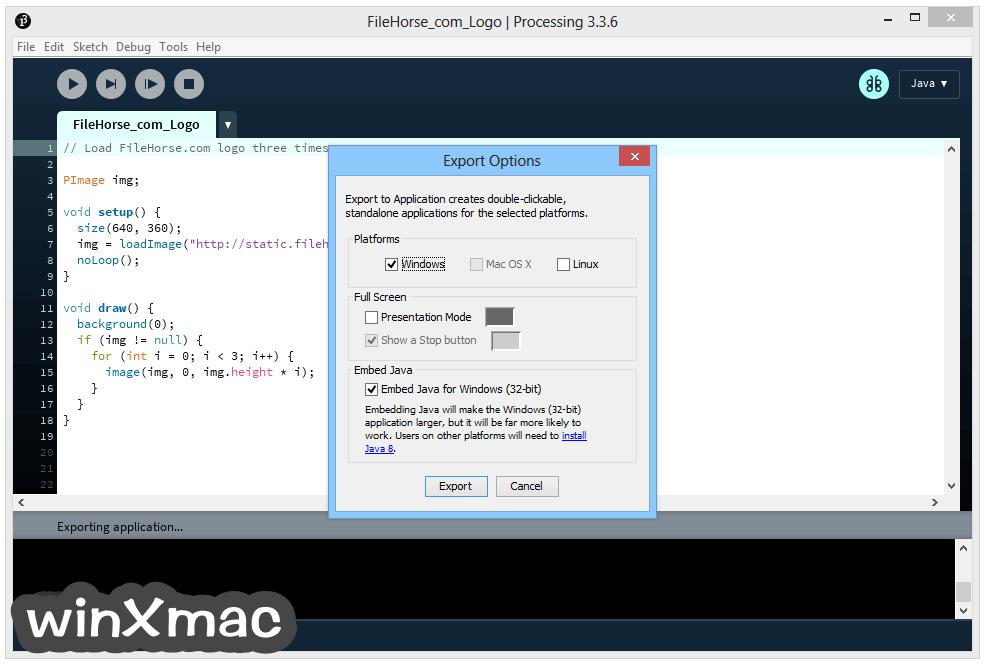 Processing (64-bit) Screenshot 3
