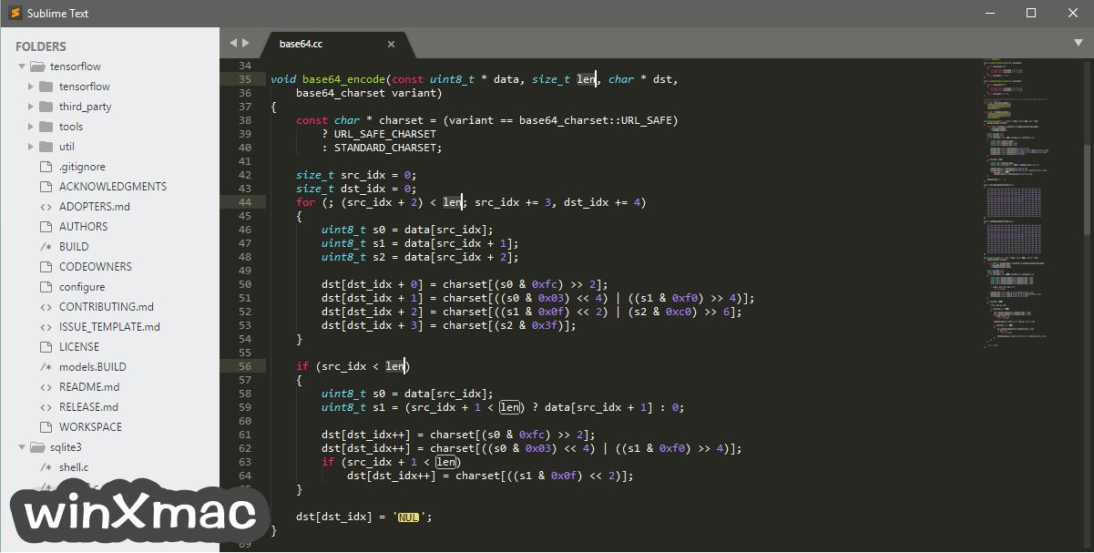 Sublime Text (32-bit) Screenshot 1