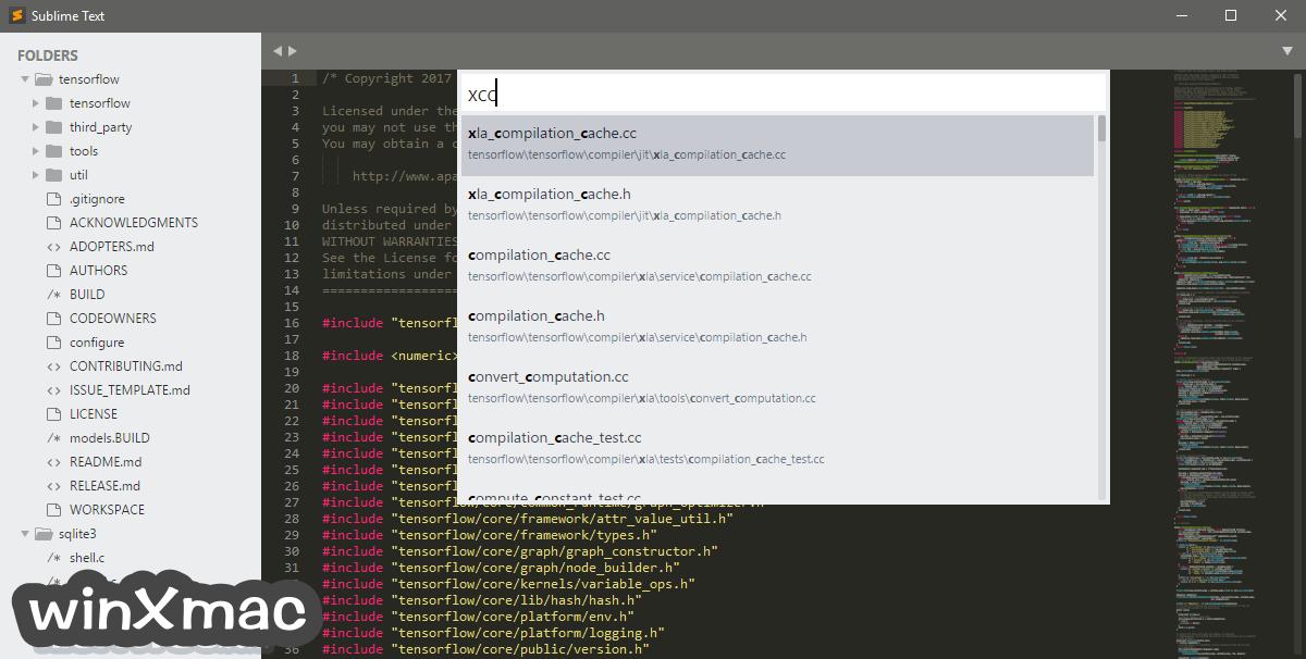 Sublime Text (32-bit) Screenshot 2