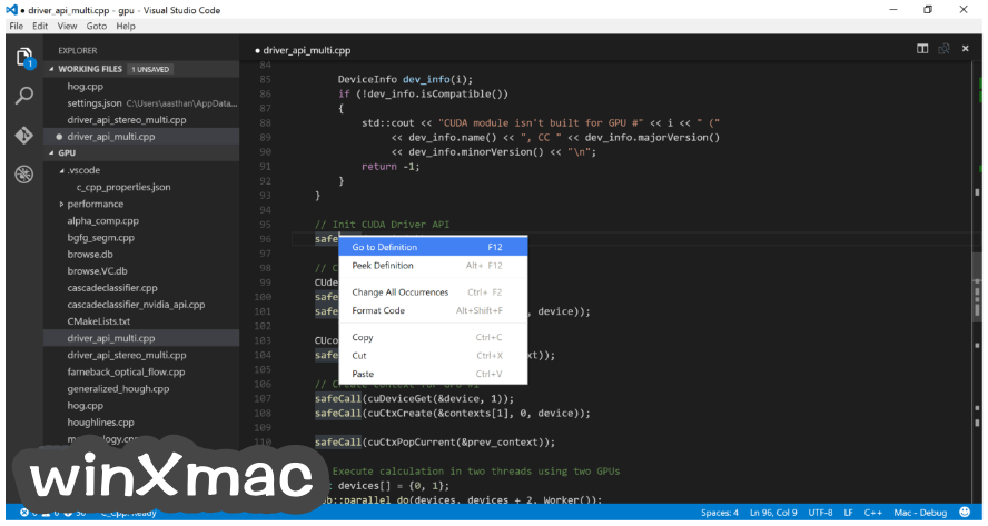 Visual Studio Code Screenshot 3