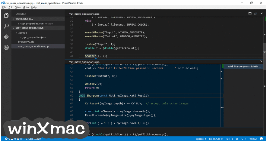 Visual Studio Code Screenshot 4