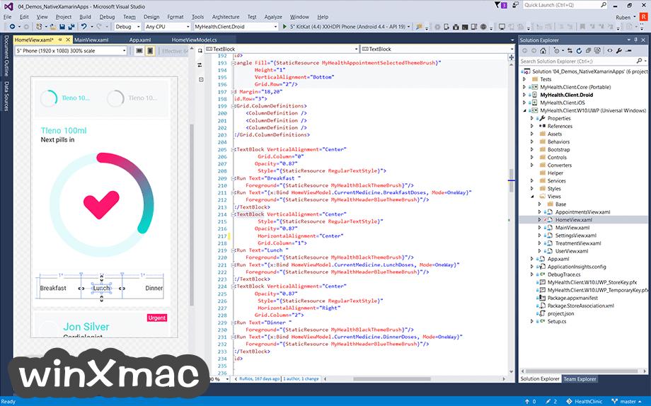 Visual Studio Community Screenshot 1