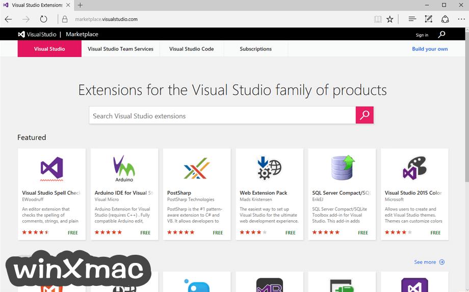 Visual Studio Community Screenshot 5