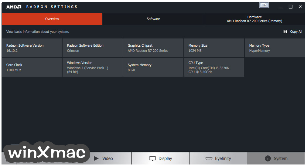 AMD Catalyst Drivers (Vista 32-bit) Screenshot 4