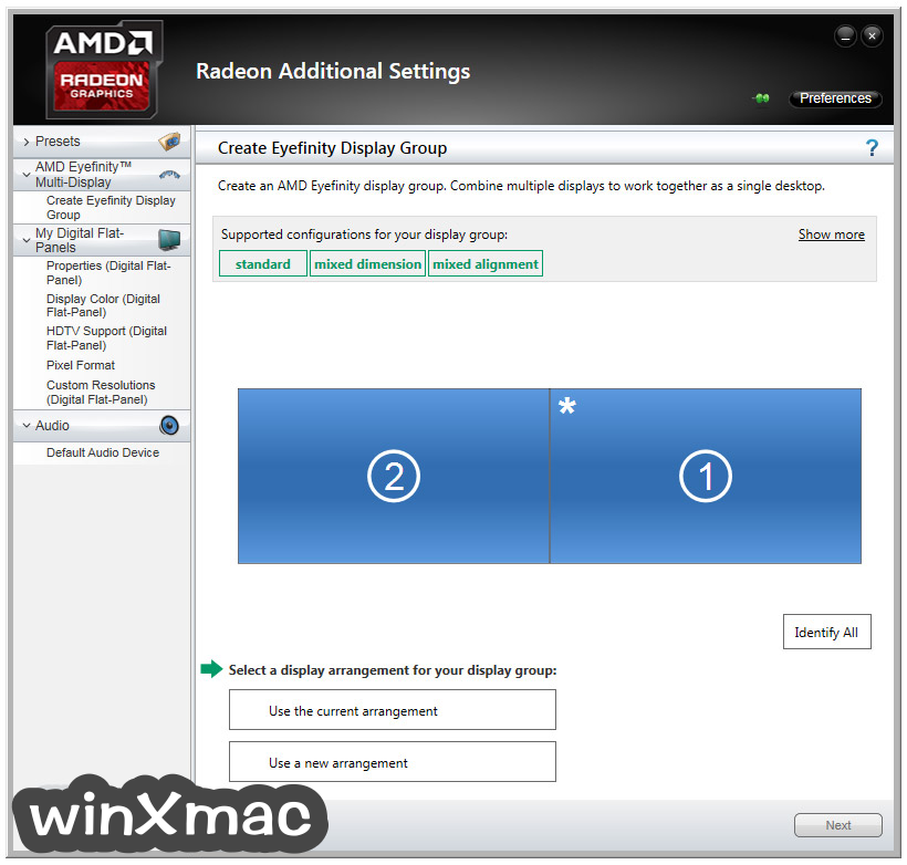AMD Catalyst Drivers (XP 32-bit) Screenshot 5