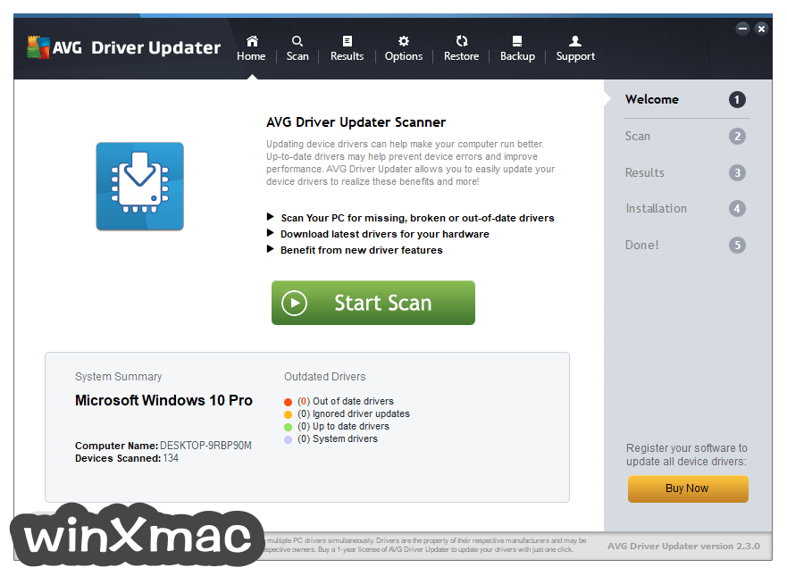 AVG Driver Updater Screenshot 1