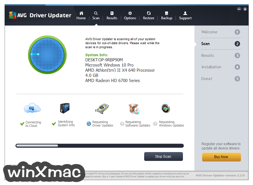 AVG Driver Updater Screenshot 2