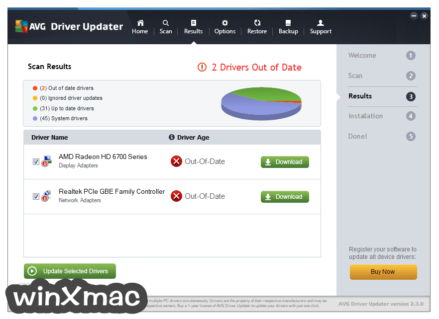 AVG Driver Updater Screenshot 3