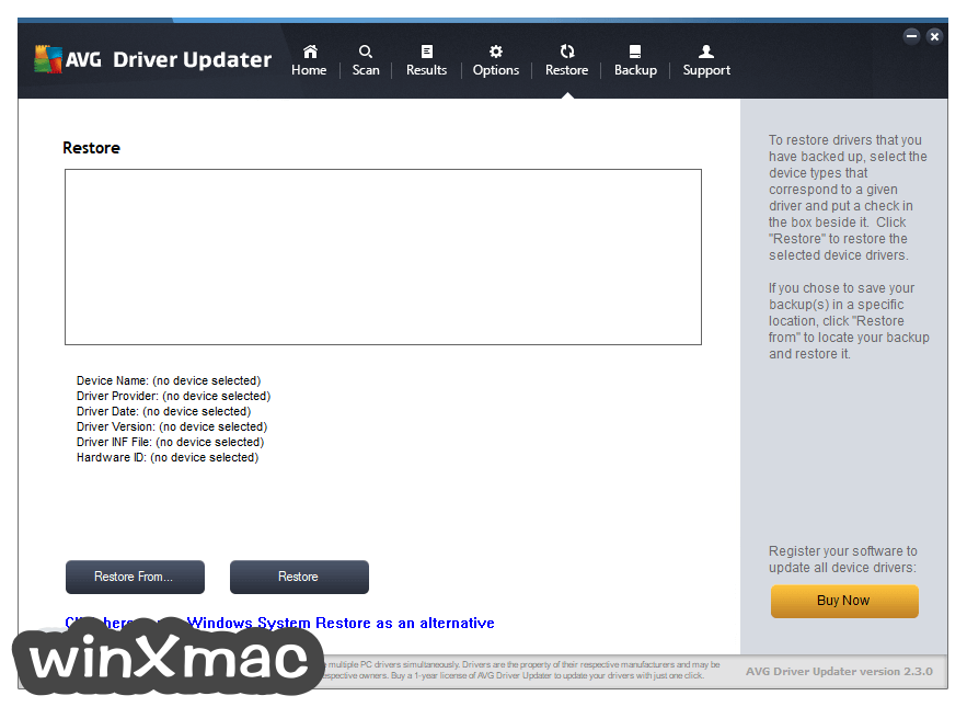 AVG Driver Updater Screenshot 4