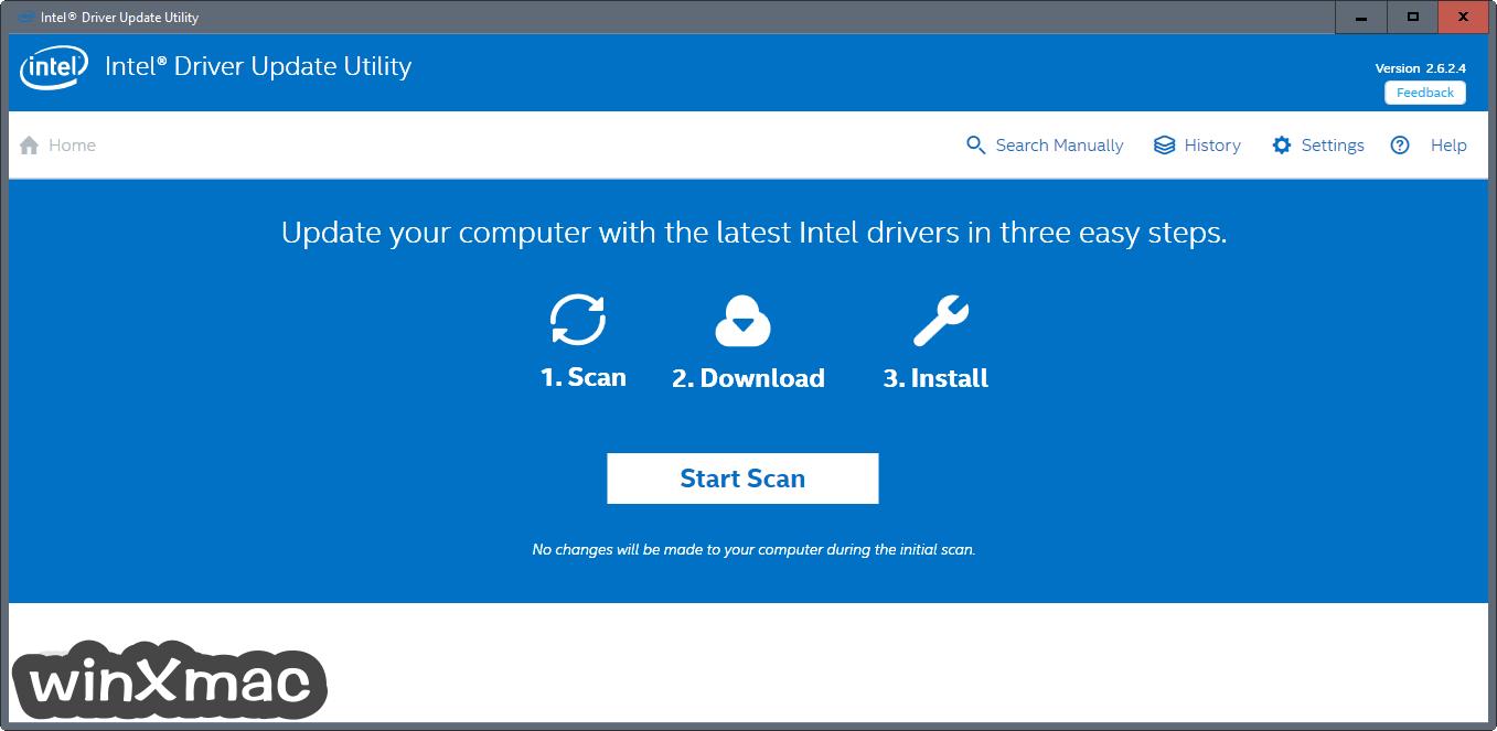 Intel Driver Update Utility Screenshot 1