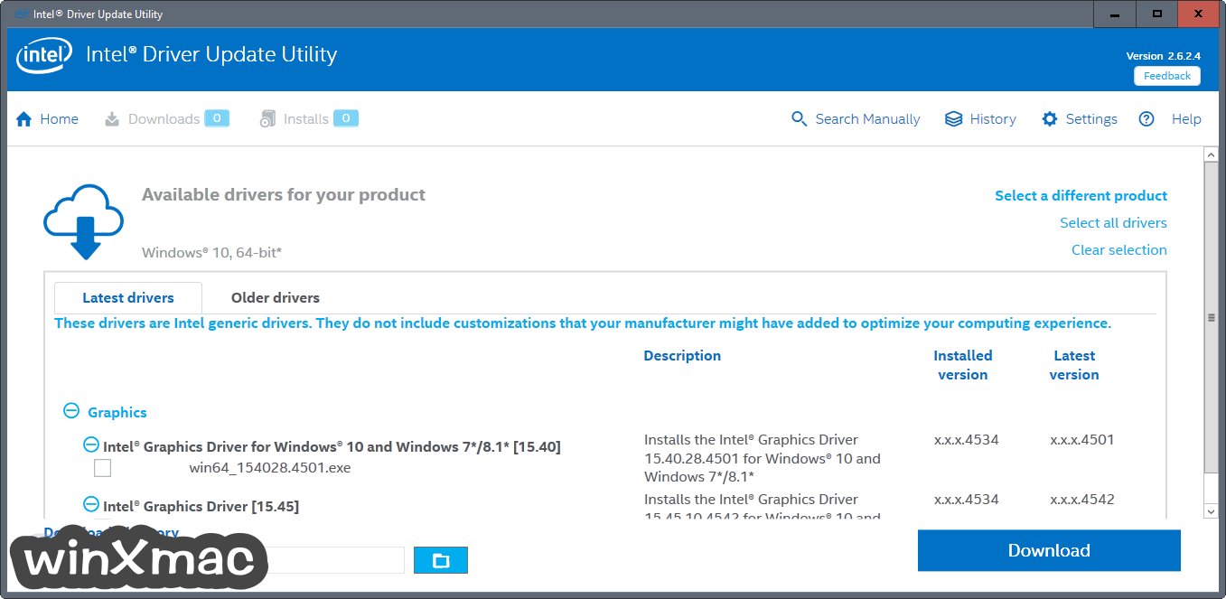 Intel Driver Update Utility Screenshot 2