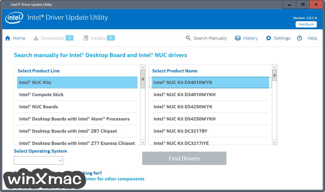 Intel Driver Update Utility Screenshot 3