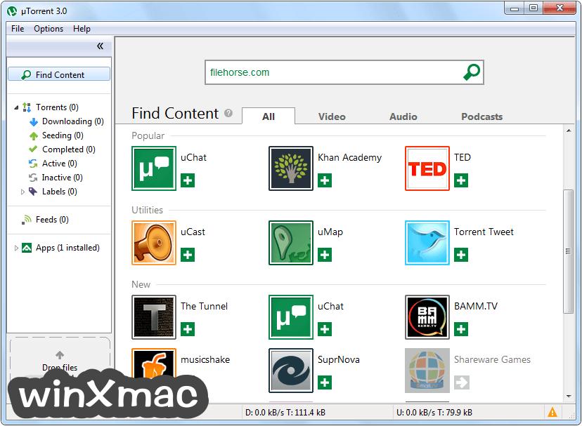 uTorrent Screenshot 1