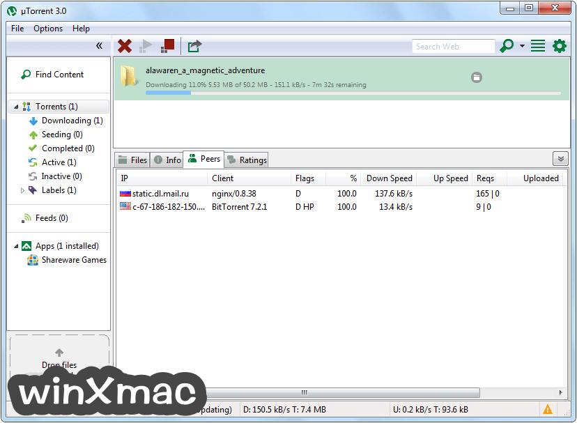 uTorrent Screenshot 3