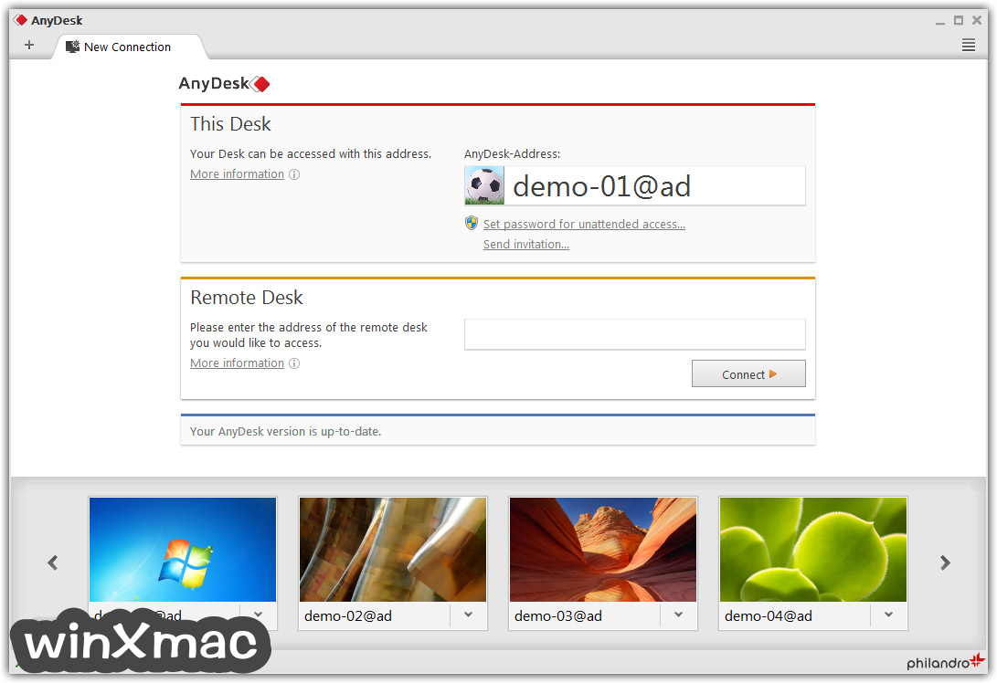 AnyDesk Screenshot 1