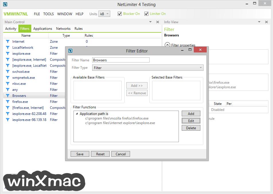 NetLimiter Screenshot 4