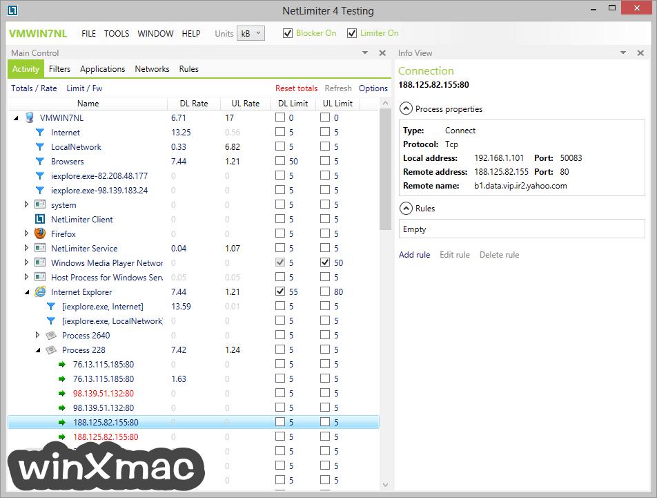 NetLimiter Screenshot 5