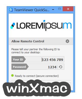 TeamViewer QuickSupport Screenshot 2