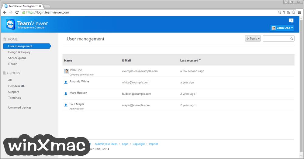 TeamViewer Screenshot 3
