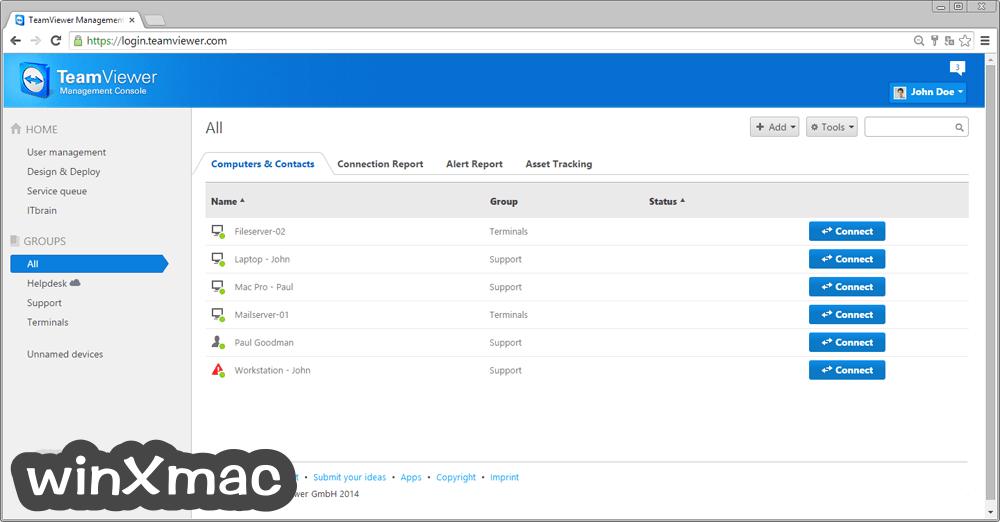 TeamViewer Screenshot 4