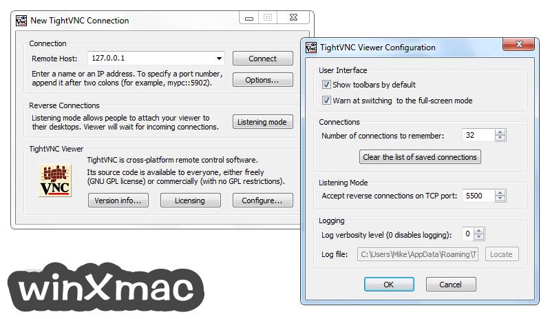TightVNC (32-bit) Screenshot 4