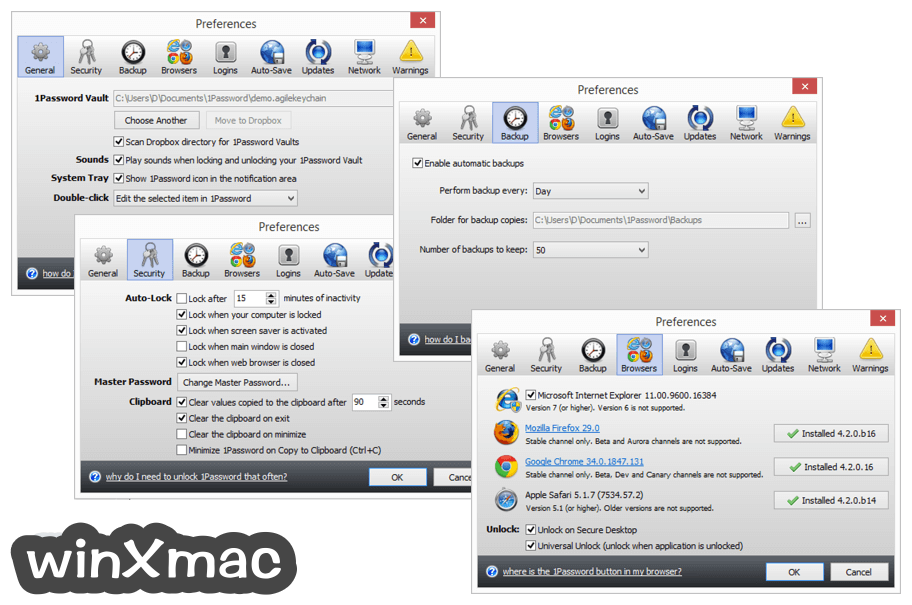 1Password for Windows Screenshot 3