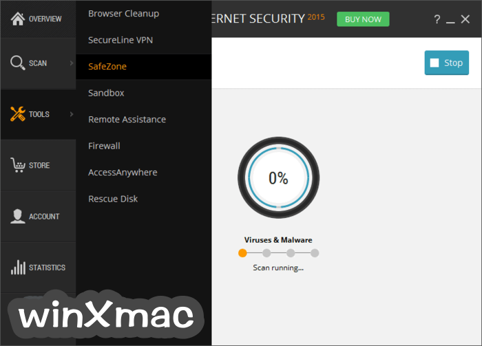 Avast Internet Security Screenshot 3