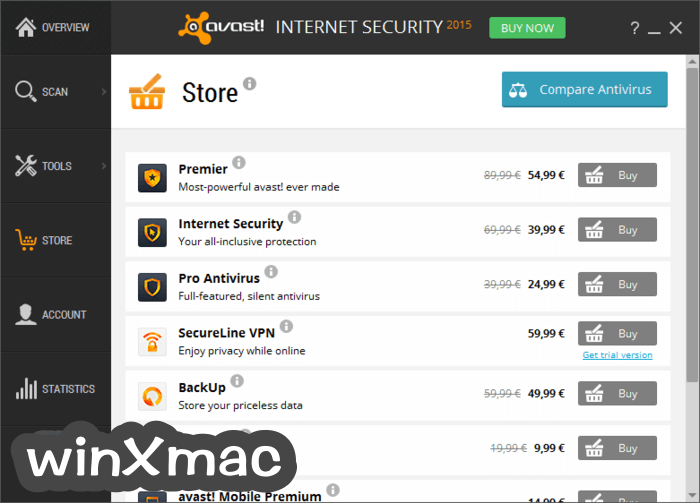 Avast Internet Security Screenshot 4