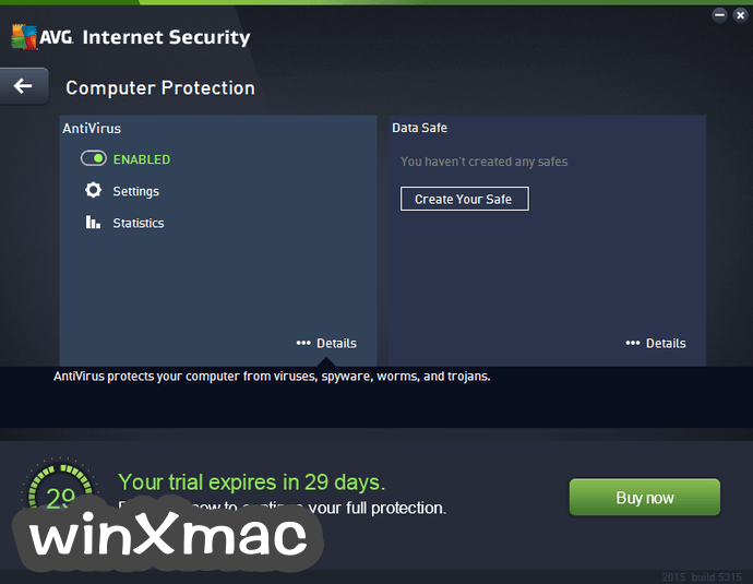 AVG Internet Security (32-bit) Screenshot 2