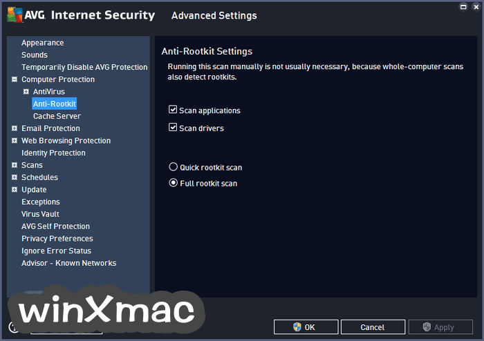 AVG Internet Security (32-bit) Screenshot 4