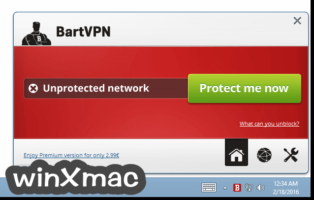 BartVPN Screenshot 1