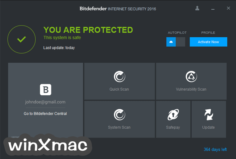 Bitdefender Internet Security (64-bit) Screenshot 1