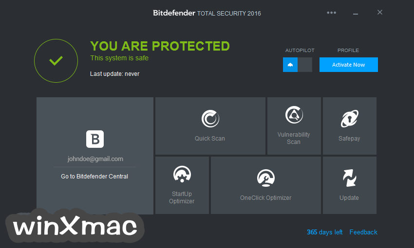 Bitdefender Total Security (32-bit) Screenshot 1