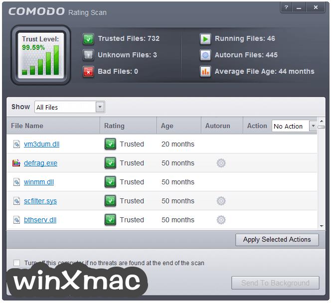 Comodo Firewall Screenshot 4