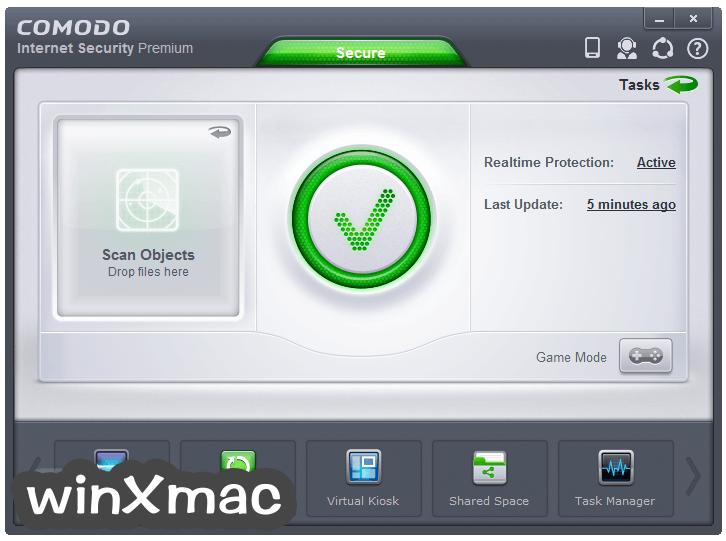 Comodo Internet Security Screenshot 1
