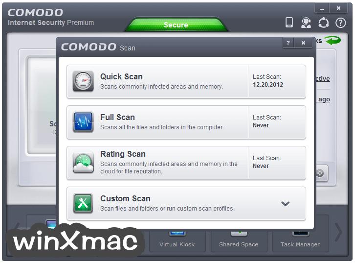 Comodo Internet Security Screenshot 3
