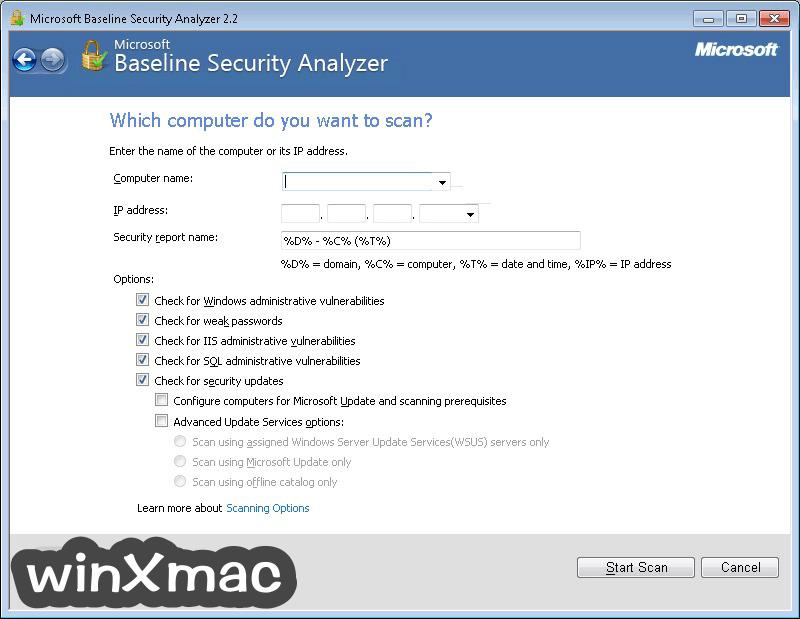 MBSA (64-bit) Screenshot 2