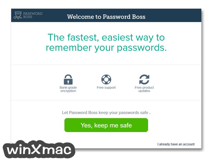 Password Boss Screenshot 1