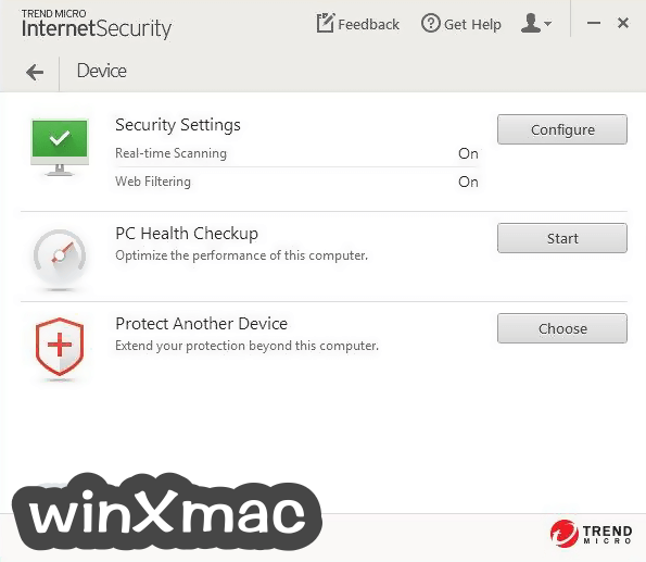 Trend Micro Internet Security Screenshot 2